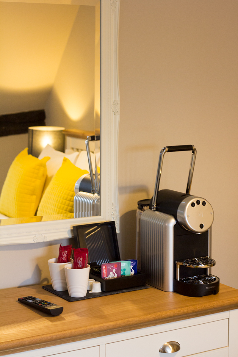 Slide The Church Inn - guest accommodation coffee machine
